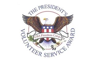 The President's Volunteer Service Award
