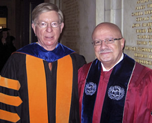 George Will and President Padrón