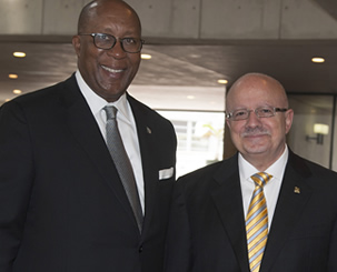 Ambassador Ron Kirk with President Padrón