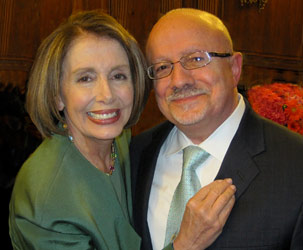 Speaker Pelosi and MDC President Padrón