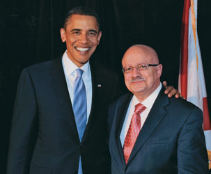 President Obama and MDC President Padrón