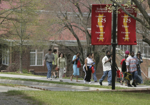A scene from Tuskegee (Ala.) University
