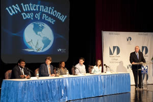 Miami Dade College's (MDC) North Campus celebrated United Nations' International Day of Peace