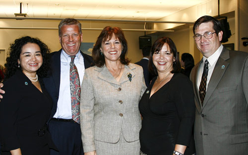 Wendy Lobos, Jon Burgess, Lynda Bell, Nancy Sierra and Tim Nelson