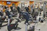 fitness machines inside a gym