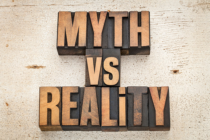 Myth versus Reality text