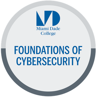 MDC Foundations of Cybersecurity digital badge